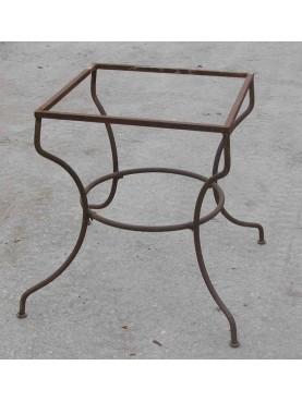 Base di tavolo in ferro battuto