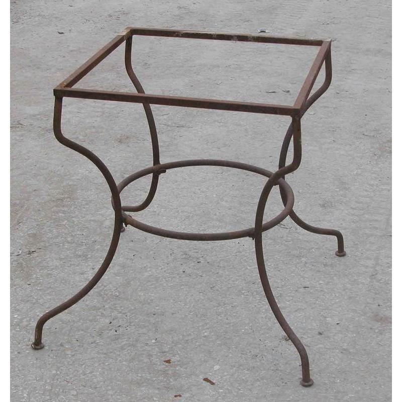 Base di tavolo in ferro battuto - Recuperando