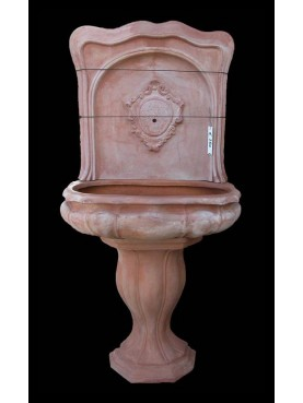 3 piece terracotta fountain