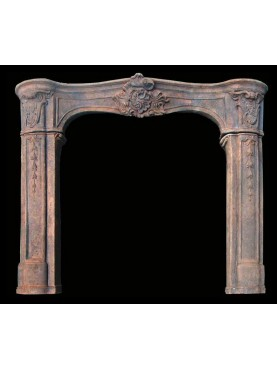 Terracotta Fireplace