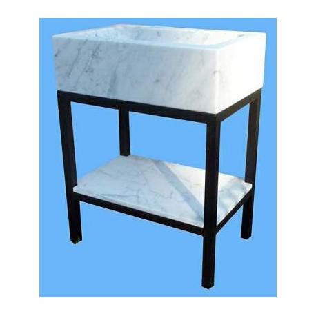 Minimalist sink stand
