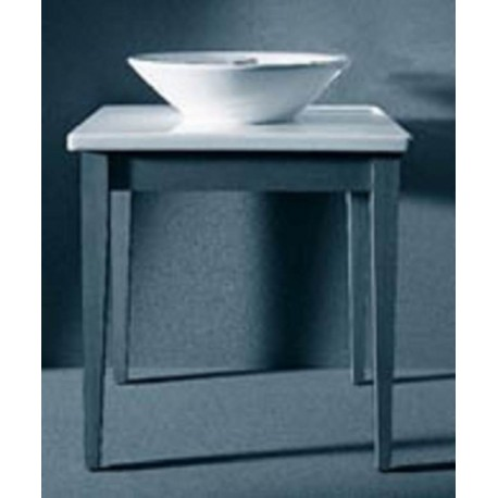 Minimalist table for sink