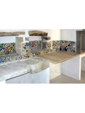 Innocenzi's house in Sardinia