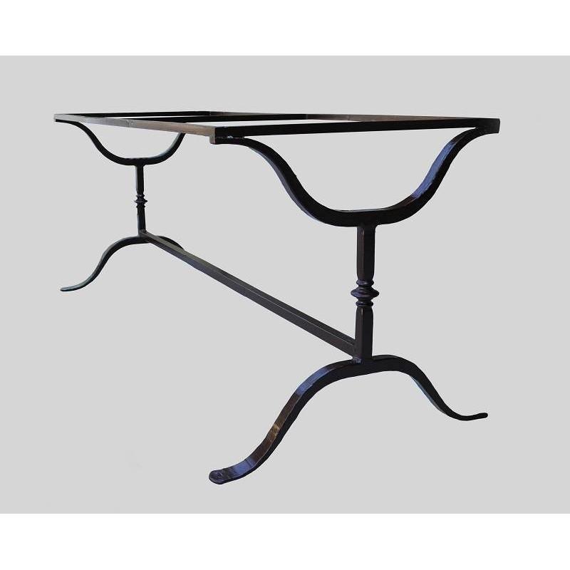 Base per tavolo in ferro battuto - Recuperando