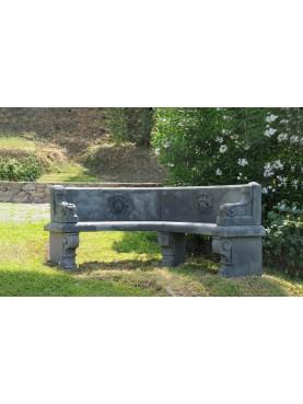 Panchina in pietra di ns produzione