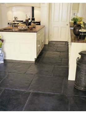 Slate floor - our production
