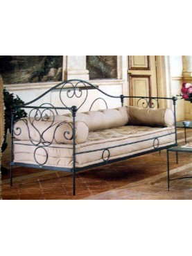 Forged Iron Garden Divan