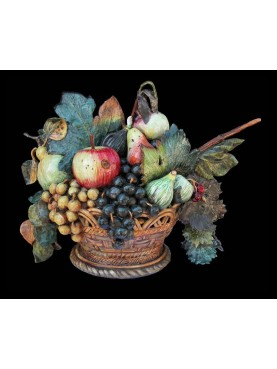 Caravaggio's fruits basket