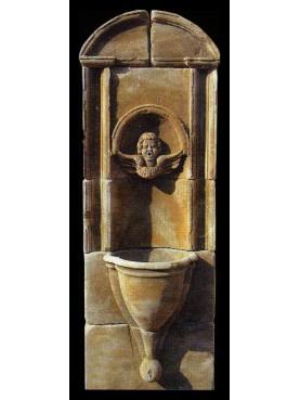 Vertical fountain