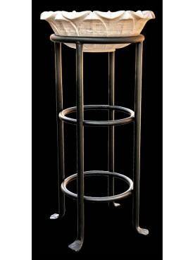 Round sink stand