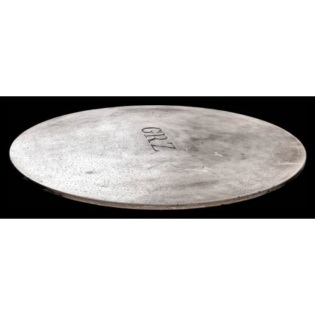 Sculpted marble Ø120cms round table