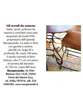 Montalcino - Poltroncina Versilia su Gardenia