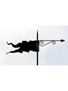 Banderuola della torre del Castello della Sala