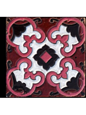 Original Liberty majolica tile