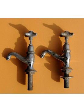 Italian faucet pair