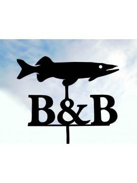 Pike wind vane for B & B