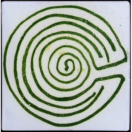 Piastrelle Berbere Labirinto 9,5x9,5cm