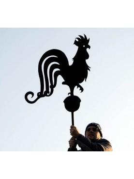 Galletto a vento ferro battuto francese ferro