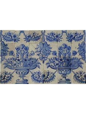 Portuguese azulejos panel