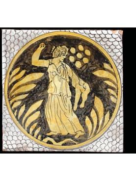Piastrelle disegno Giustiniani embricate