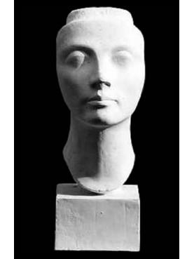 Maschera di Nefertiti IN GESSO
