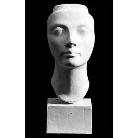Nefertiti mask PLASTER CAST