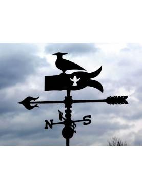 Pavoncella con punti cardinali banderuola segnavento