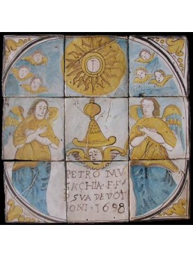 Pannello devozionale 1698