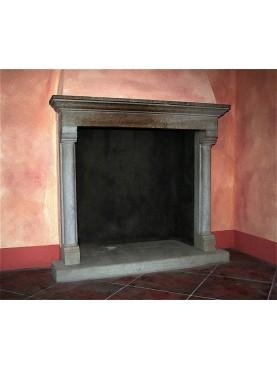 Bardi's Stone fireplace
