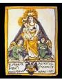 S. Maria Patrona Populi Ennensis - Madonna matonella maiolica