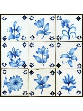 Portuguese floral tiles