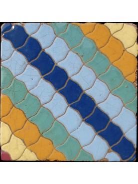 Italian majolica tile