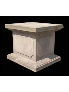 Stone base H.50cms/60x50cms