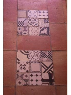 Roof tiles and majolica tiles