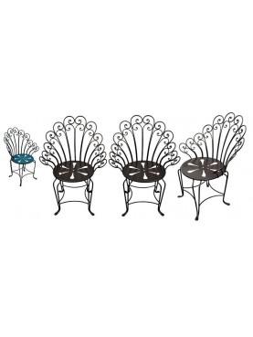 armchair XX century graden chair