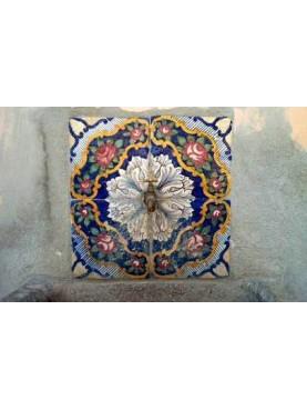 Original majolica tiles