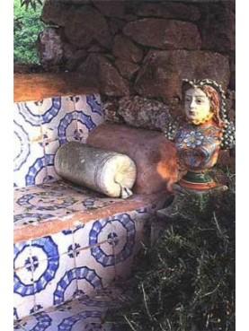 Piastrelle napoletane antiche 20x20cm