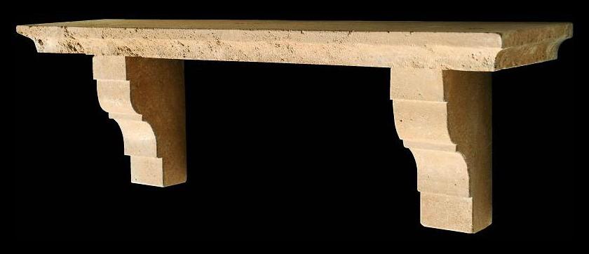 Piccola mensola in pietra Recuperando