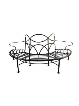 Panchina semicircolare