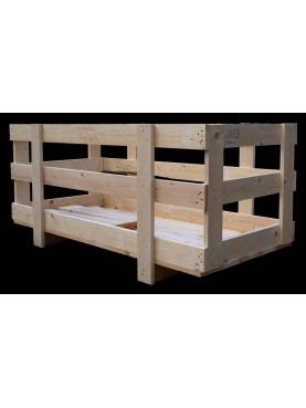 Gabbia in legno 150x70xh50 cm