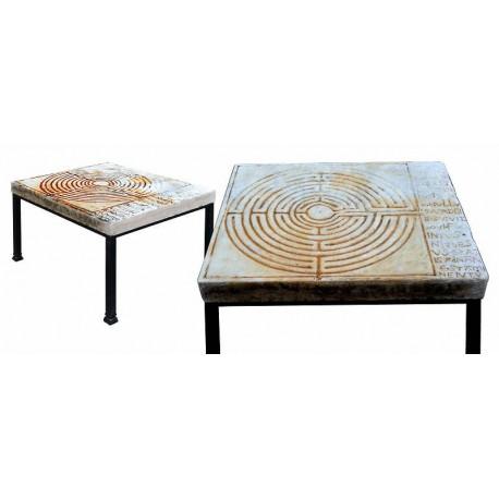 Tavolo con il Labirinto di San Martino a Lucca
