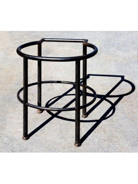 Round and oval sink stand