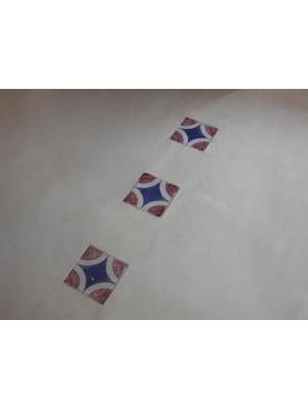 Piastrelle maiolicate 20x20cm