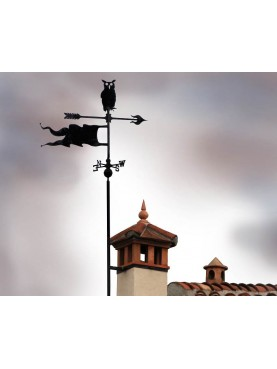 GUFO REALE, freccia, bandiera e punti cardinali