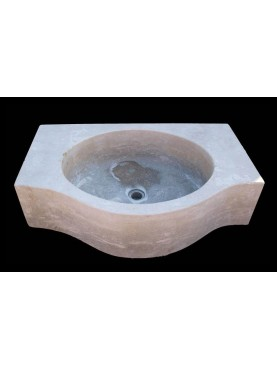 Lime stone sink