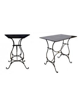 Tavolino in ferro battuto 120CM