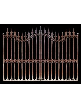 Cancello largo 330 cm