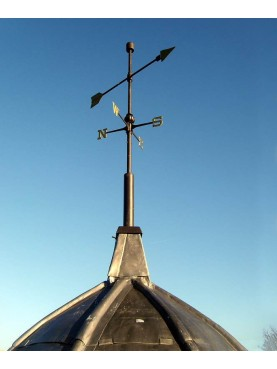 Our weather Vane - Dublin, on the Naas Clock Tower