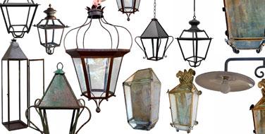 Illuminazione lanterne italiane